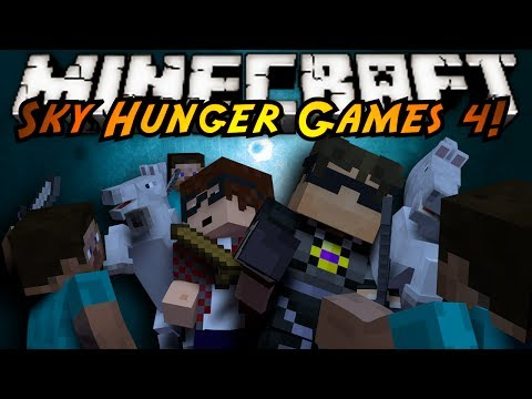 Minecraft Sky Hunger Games : WEEZY GAMES!