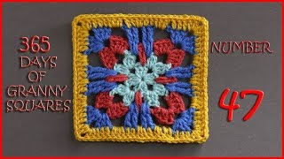 365 Days of Granny Squares Number 47