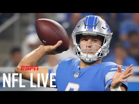 Stafford in a win-win position with Lions | NFL Live | ESPN