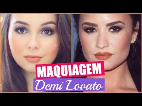 Tutorial: Maquiagem Demi Lovato