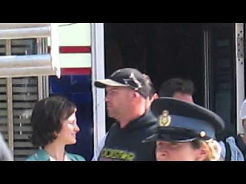 [James Franco in Dunnville Ontario] Video