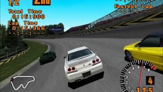 Gran Turismo 1 - High Speed RIng race (epsxe emulator) (HD)