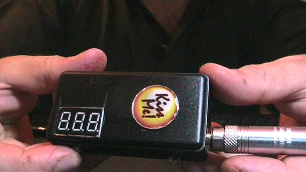 e cig mod with volt & ohm meter - YouTube