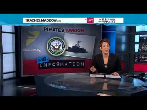 Rachel Maddow- U.S. Navy fights back against Somali pirates