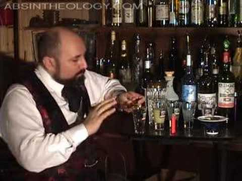 Czech Absinthe Huffing Ritual