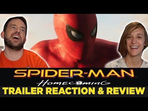 SPIDER-MAN: Homecoming - TRAILER #2 Reaction & Review!