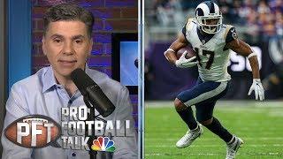 PFT Overtime: Robert Woods' contract, Joe Mixon's belief in Bengals | Pro Football Talk | NBC Sports