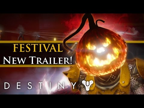 Destiny - Festival of the lost 2016 Release date! News, Loot, Exotic Ornaments & Masks!