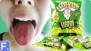 Irish People Taste Test The Sourest Candy In The World