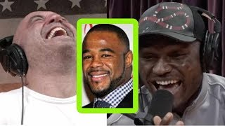 Kamaru Usman Got Really High with Rashad Evans