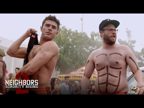"Neighbors 2 - ""Teddy Gets Oiled Up"" - In Theaters May 20 (HD)"