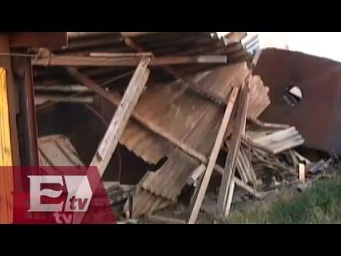 Explosión en Chalco deja una persona muerta / Martín Espinosa