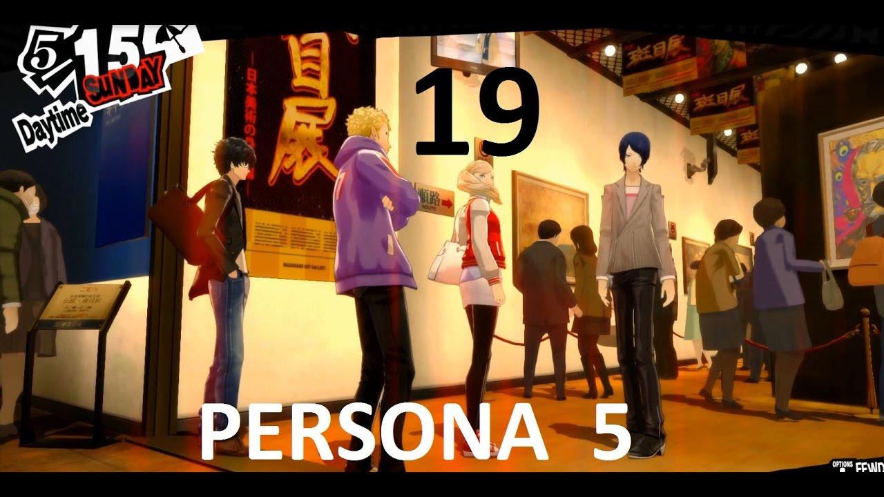 PERSONA 5 Gameplay Lektor PL 19 - Wystawa sztuk pięknych.