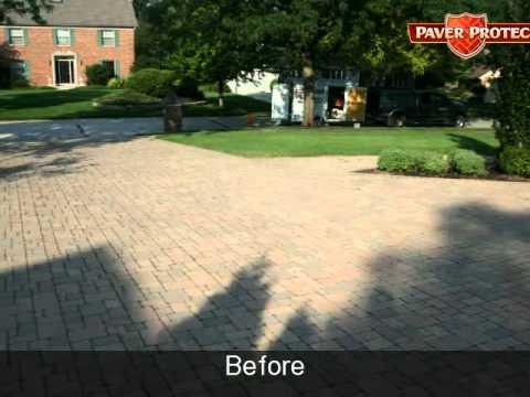 Brick Driveway Sealing Brick Paver Driveway Cleaning