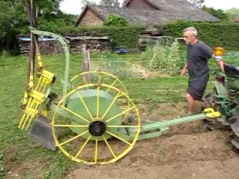 Fabriquer une arracheuse de pomme de terre