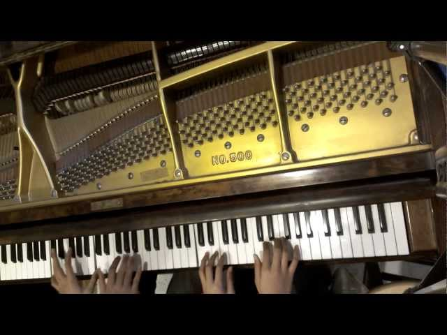 4 Hand Piano Cover-The Struggle by Tenth Avenue North
