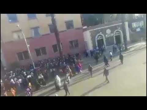 Asmara/Eritrea - Akriya Uprising 10/31/17 Video #4
