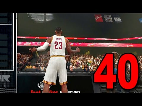 NBA 2K16 My Player Career - Part 40 - LeBron James and the Cavs (PS4 Gameplay)