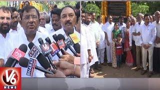 TRS MP Sitaram Naik Pays Tribute To Prof Jayashankar On His Death Anniversary | Hanamkonda