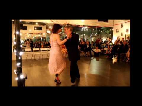 Jose Garofalo and Elizabeth Wartluft dance Paisaje