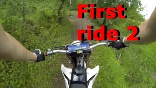 Yamaha YZ450F First ride 2 Forest