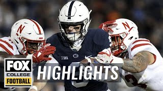 Penn State vs Nebraska | Highlights | FOX COLLEGE FOOTBALL