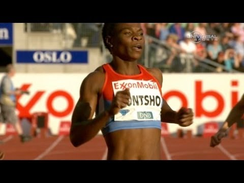Montsho claims DL lead with win at 2012 Oslo Bislett Diamond League