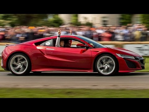 Our latest 360° video: Jenson Button takes Ricky Wilson for a blast in the all-new NSX