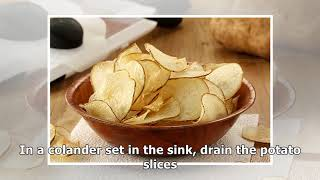 Salt and Vinegar Potato Chips Recipe