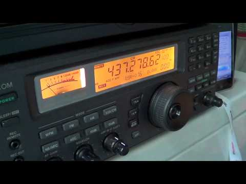 Amateur Radio Satellite CO-65 Beacon oct 15th 2012