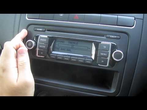 polo 6r 2010 car radio