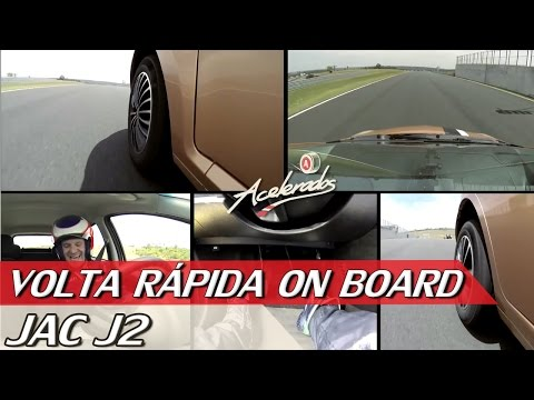 JAC J2 - VOLTA RÁPIDA ON BOARD #9 COM RUBENS BARRICHELLO | ACELERADOS