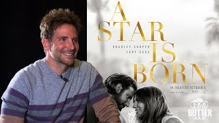 "Bradley Cooper on Lady Gaga, ""That was the day where the movie was born.""  