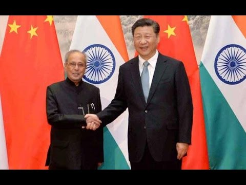 Pranab Mukherjee Raises NSG & Terrorism Issues in China