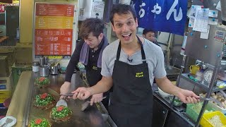 Hiroshima Okonomiyaki Lunch Experiment 広島焼き ★ ONLY in JAPAN #19
