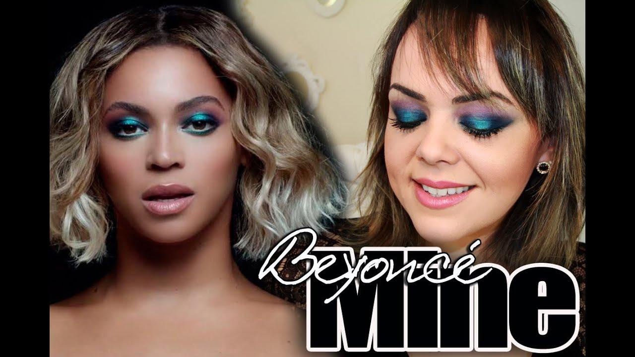 Beyoncé Mine Makeup Inspired
