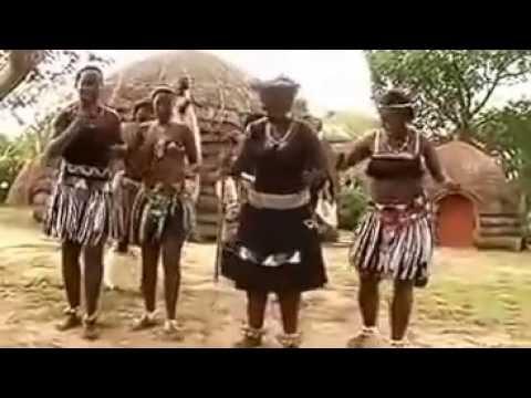 Zulu Tribe Wedding Song and Dance