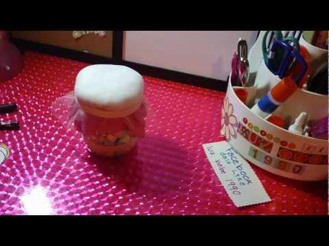 RECUERDO de BAUTIZO o BABY SHOWERreciclado