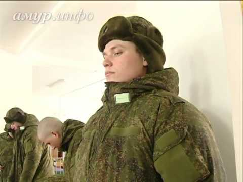 Военнослужащие в Белогорске первыми оценили форму нового ...