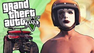GTA 5 Funny Moments: ATV Mini Game! (GTA V Online)