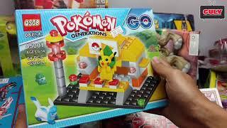Cu lỳ đi shopping mua đồ chơi rất nhiều robot siêu nhân lego pokemon khủng long đẹp nè các bạn