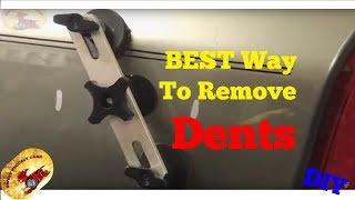 REMOVING DENTS IN YOUR CAR OR TRUCK IS EASY!!!