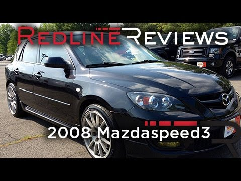 2008 Mazdaspeed3 Review. Walkaround. Exhaust & Test Drive