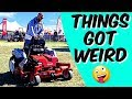 Lawn Care And Traveling Mistake [ Racing A Hell Cat ]