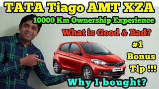 Tata Tiago XZA Ownership Review | What is Good & Bad | 1 Bonus Tip