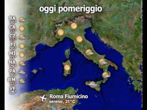 Meteo Italia del 24/07/2010