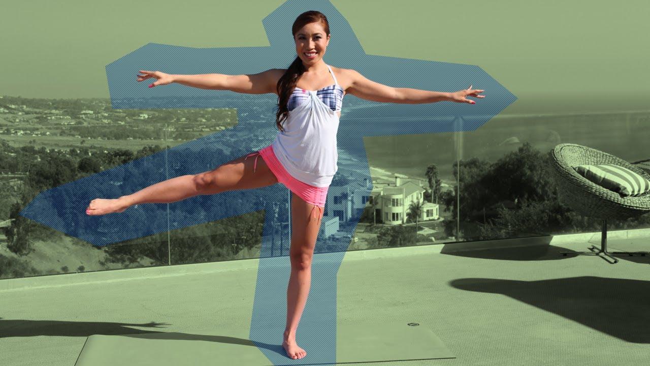 Long, Lean Dancer's Legs Pilates Workout | Pilates ...