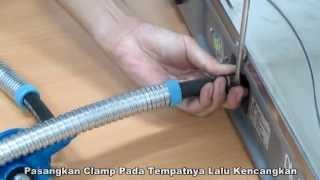 blue gaz - Cara Memasang Selang blue gaz ke Kompor blue gaz