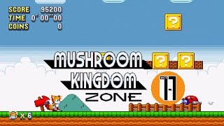 Sonic Mania Mushroom Kingdom Zone