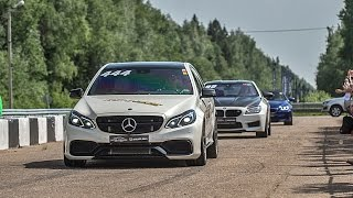 Mercedes E63 AMG 4M vs Corvette ZR1 vs BMW M6 F13 vs Audi TT RS